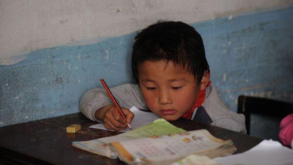 Un écolier chinois (image d'illustration) - Sputnik France