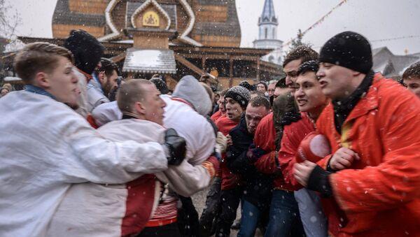 Масленичные гуляния в Москве - Sputnik France