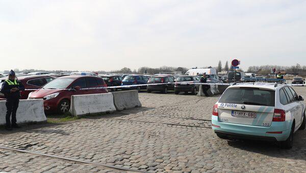 La police belge dans la ville d'Anvers - Sputnik France