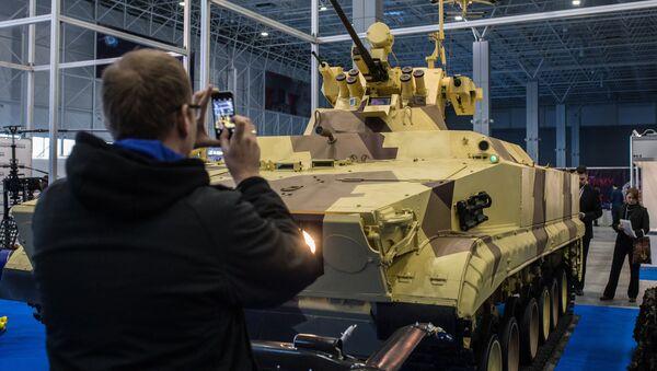 Les robots de guerre du salon de Koubinka, dans la région de Moscou - Sputnik France