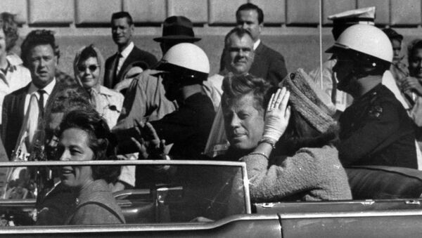 John F. Kennedy avant d'être assassiné - Sputnik France