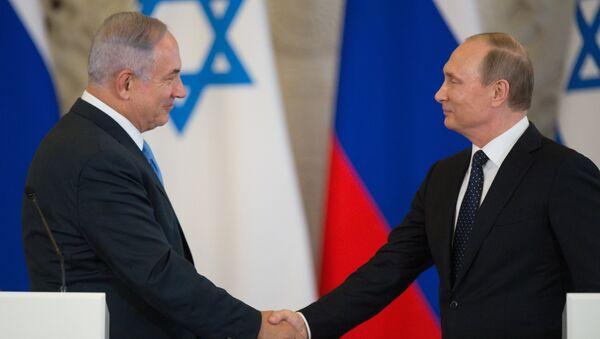 Poutine et Netanyahou - Sputnik France