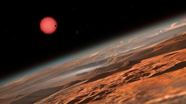 Une naine et une planète - Sputnik France