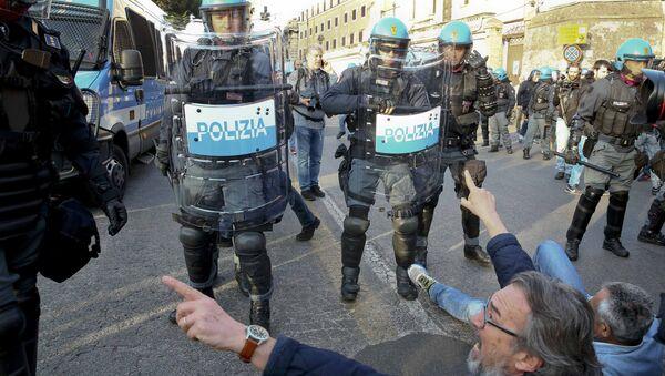 Une manifestation à Rome - Sputnik France
