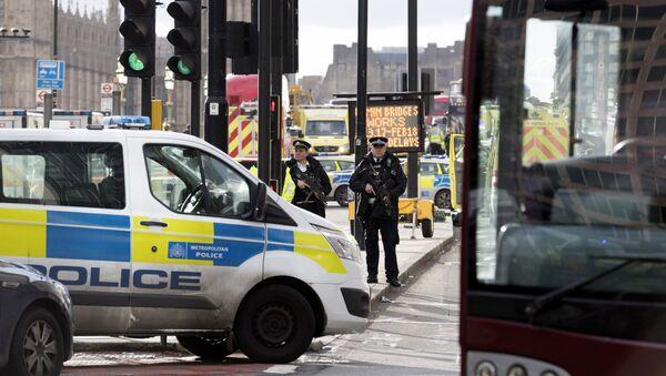 Le périmètre de sécurité établi à Londres après l'attentat du 22 mars - Sputnik France