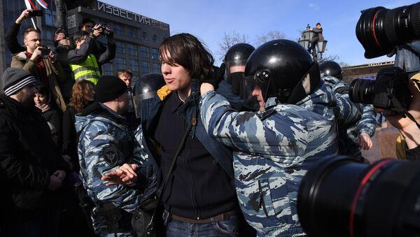 manifestation à Moscou - Sputnik France