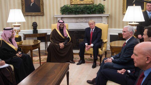 Donald Trump et Mohammed ben Salmane - Sputnik France