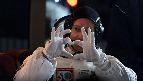 Thomas Pesquet - Sputnik France