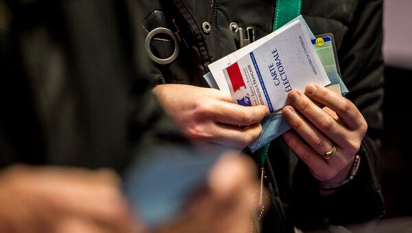 Carte électorale - Sputnik France
