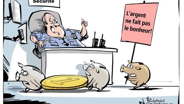 Карикатура - Sputnik France
