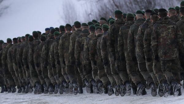 Des soldats allemands. Image d'illustration - Sputnik France