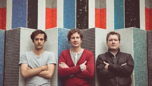 Le groupe OddZoo: Seb, Jim, Romain - Sputnik France
