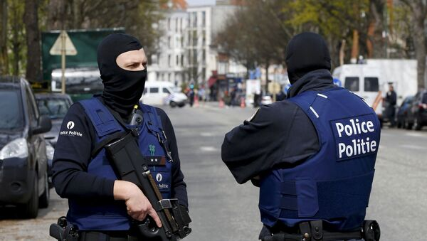 Polizisten in Brüssel - Sputnik France
