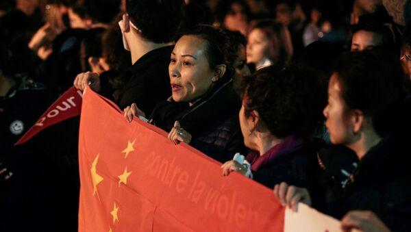 Manif de Chinois à Paris - Sputnik France
