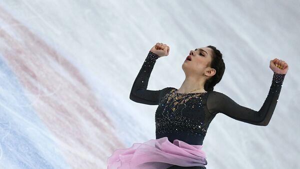 Evgenia Medvedeva performe le programme libre aux Championnats du monde - Sputnik France