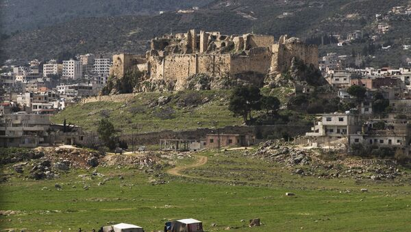 Masyaf Castle is seen near the town of Masyaf in Hama province, in Syria - Sputnik France