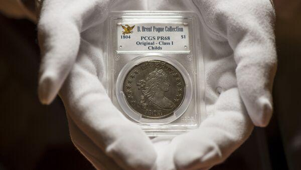 Une pièce de 1 USD datant de 1804 - Sputnik France