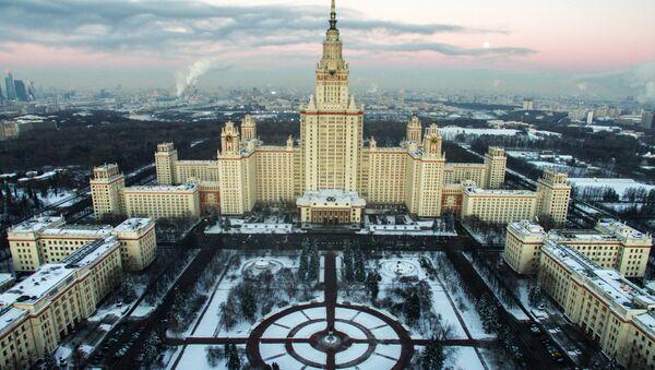Moscou vue de la hauteur d'un vol d'oiseau - Sputnik France