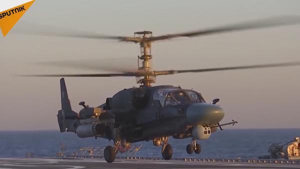 L'hélicoptère Ka-52-K Katran - Sputnik France