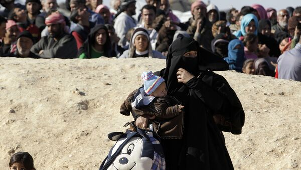 Près de 50.000 Syriens bloqués à la frontière avec la Jordanie - Sputnik France