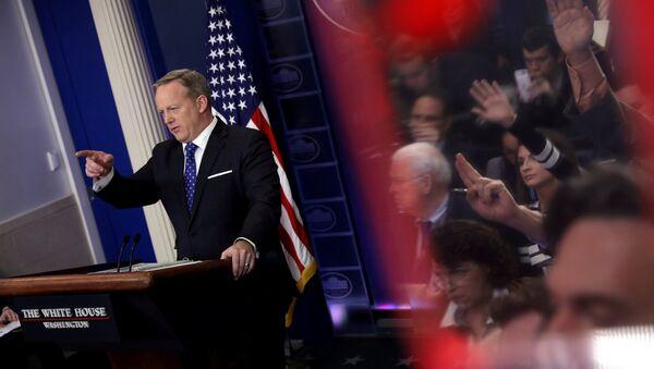 Le porte-parole de la Maison Blanche Sean Spicer - Sputnik France