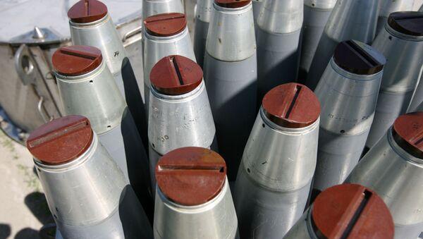 Chemické zbraně - Sputnik France