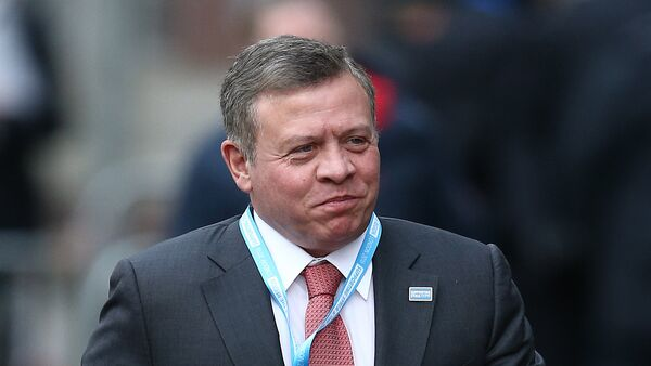 Jordan's King Abdullah II arrives at the QEII centre in central London on February 4, 2016, to attend a donor conference entitled 'Supporting Syria & The Region' - Sputnik France