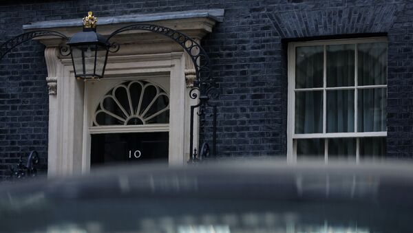 10 Downing Street, the official residence of Britain's Prime Minister Theresa May, is pictured in central London on March 28, 2017. - Sputnik France