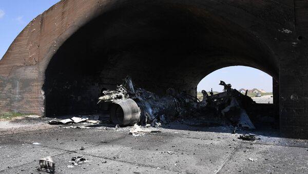 Les conséquences des frappes US contre la base militaire Shayrat en Syrie - Sputnik France