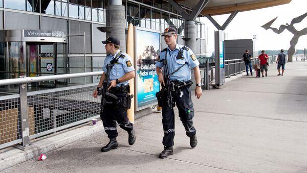 Policiers norvégiens - Sputnik France