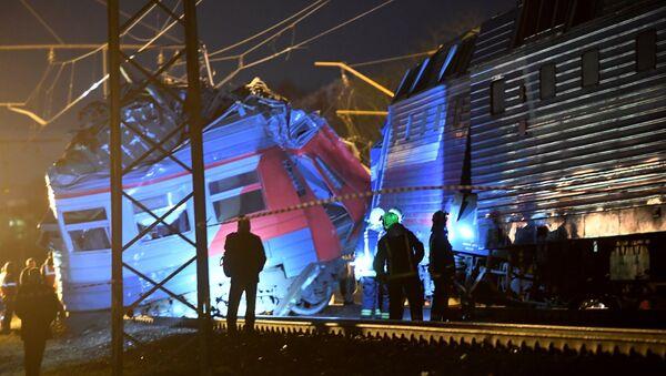 Collision de trains dans l'ouest de Moscou - Sputnik France
