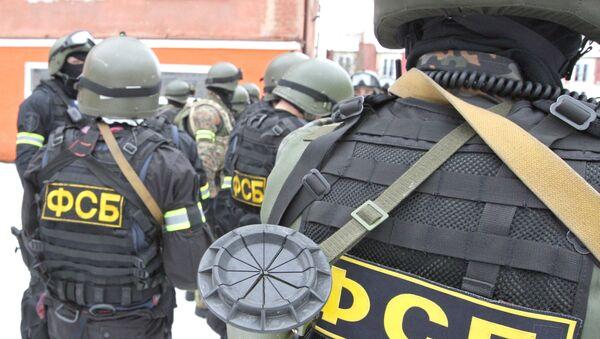 Антитеррористические учения спецназа УФСБ и УМВД России - Sputnik France