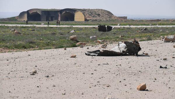 Frappe US contre la base aérienne de Shayrat en Syrie - Sputnik France