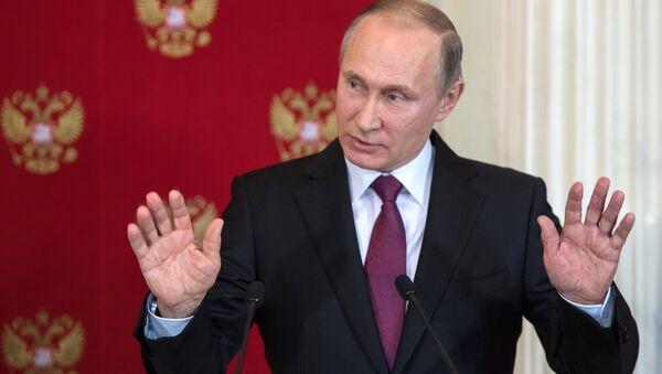 «Le bien triomphe du mal»: c'est exactement ça, mon boulot! explique Poutine - Sputnik France