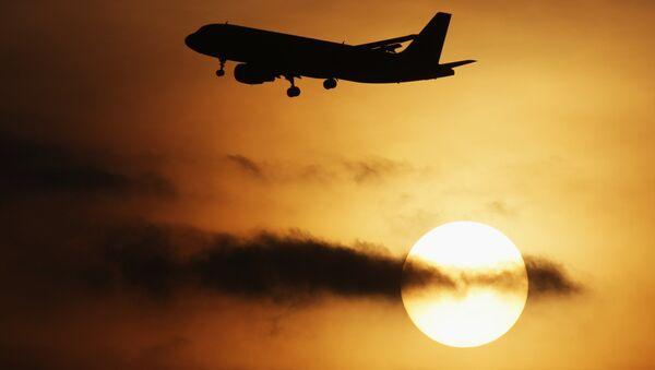Une lumière clignotante sème l'effroi parmi les passagers d'un avion (vidéo) - Sputnik France