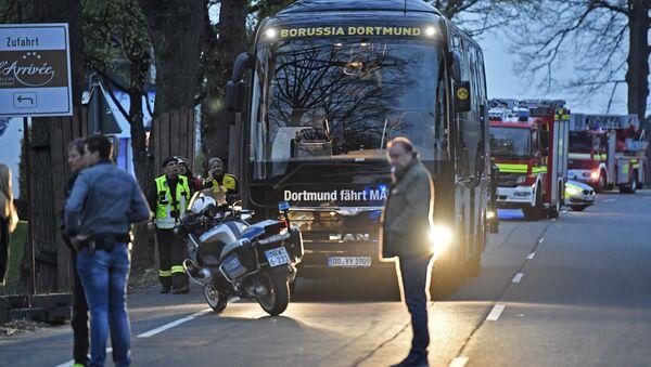 Une lettre de revendication à Dortmund demande à Merkel de fermer la base US à Ramstein - Sputnik France