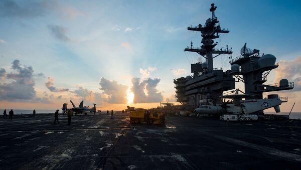 USS Carl Vinson de la Armada de EEUU - Sputnik France