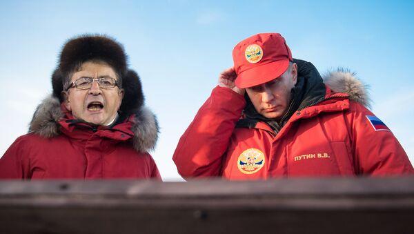 Jean-Luc Mélenchon et Vladimir Poutine - Sputnik France