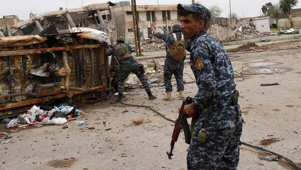 Policier irakien à Mossoul - Sputnik France