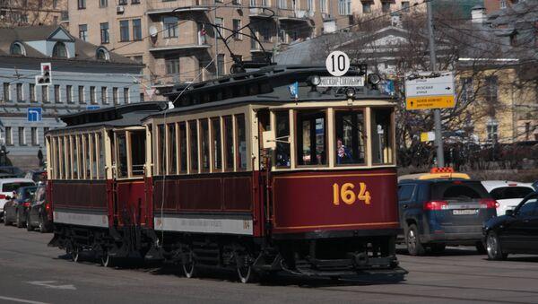 Tram parade - Sputnik France