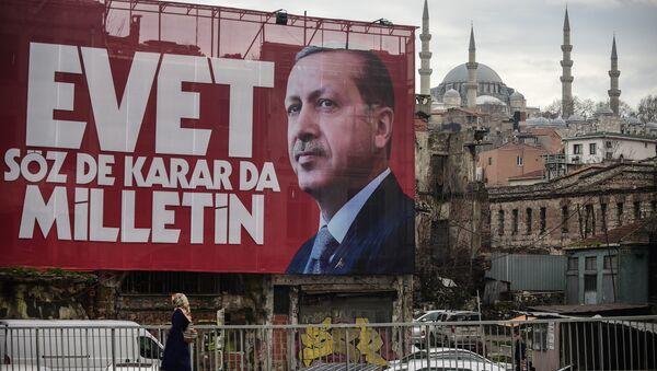 Le référendum en Turquie - Sputnik France