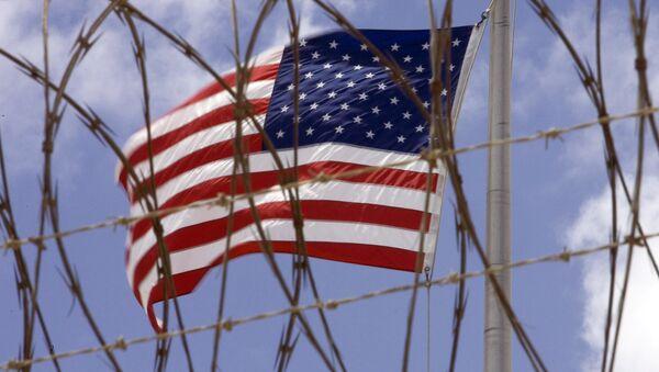 Un drapeau américain à Guantanamo Bay, Cuba - Sputnik France