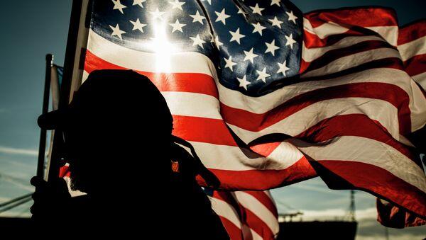 Bandera de EEUU - Sputnik France