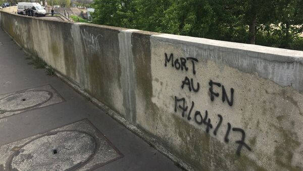 Manif anti-FN à Paris - Sputnik France