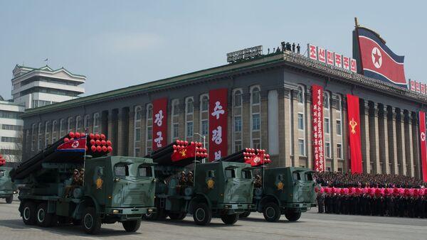 Un défilé militaire à Pyongyang - Sputnik France