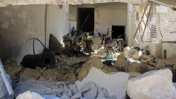 L'hôpital de Khan Cheikhoun endommagé lors de l'attaque chimique présumée du 4 avril - Sputnik France