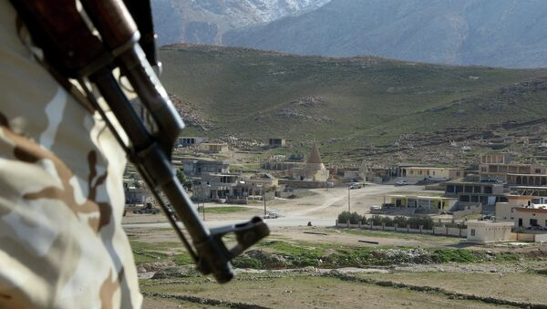 Région de Sinjar, qui s'étend de Mossoul à la Syrie - Sputnik France