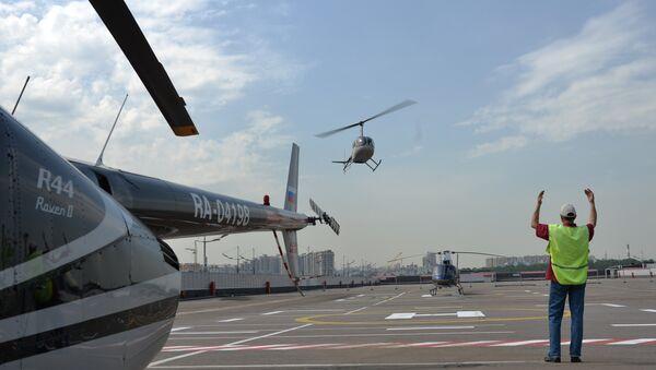 Des hélicoptères à Moscou - Sputnik France
