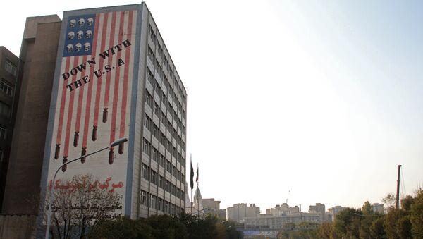 Graffiti anti-USA à Téhéran - Sputnik France