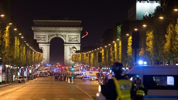 Последствия перестрелки в центре Парижа - Sputnik France